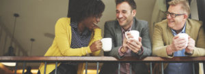 Header - Referral Partner Associates Drinking Coffee